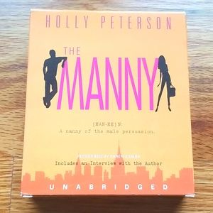 Holly Peterson The Manny audiobook on cds